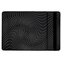 Distorted Net Pattern iPad Air Flip