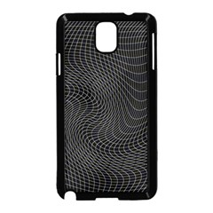 Distorted Net Pattern Samsung Galaxy Note 3 Neo Hardshell Case (Black)