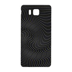 Distorted Net Pattern Samsung Galaxy Alpha Hardshell Back Case