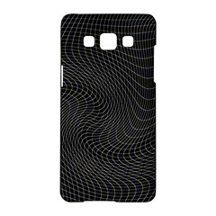 Distorted Net Pattern Samsung Galaxy A5 Hardshell Case