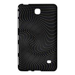 Distorted Net Pattern Samsung Galaxy Tab 4 (8 ) Hardshell Case