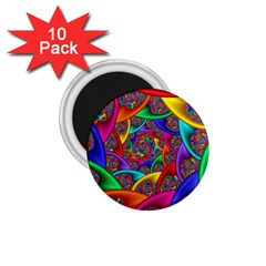 Color Spiral 1.75  Magnets (10 pack)