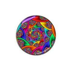 Color Spiral Hat Clip Ball Marker