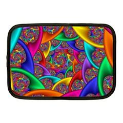 Color Spiral Netbook Case (medium)