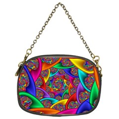 Color Spiral Chain Purses (Two Sides)