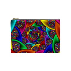 Color Spiral Cosmetic Bag (medium)