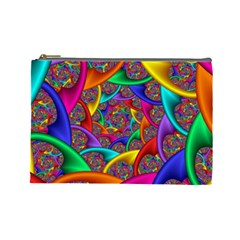 Color Spiral Cosmetic Bag (large)