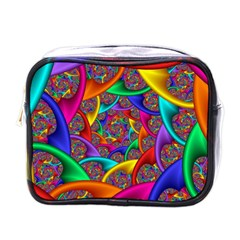 Color Spiral Mini Toiletries Bags
