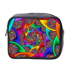 Color Spiral Mini Toiletries Bag 2-Side