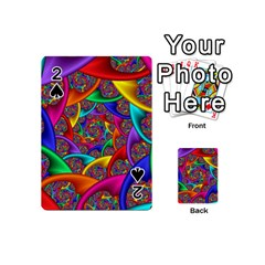 Color Spiral Playing Cards 54 (mini)