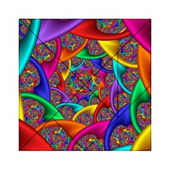 Color Spiral Acrylic Tangram Puzzle (6  x 6 )