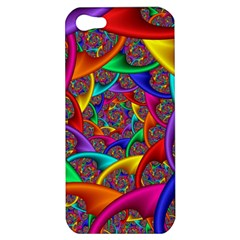 Color Spiral Apple iPhone 5 Hardshell Case