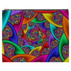 Color Spiral Cosmetic Bag (XXXL)