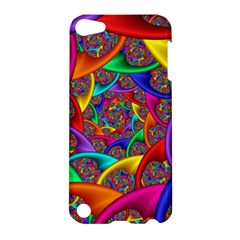 Color Spiral Apple iPod Touch 5 Hardshell Case