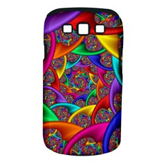 Color Spiral Samsung Galaxy S III Classic Hardshell Case (PC+Silicone)