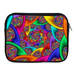 Color Spiral Apple iPad 2/3/4 Zipper Cases