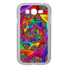 Color Spiral Samsung Galaxy Grand DUOS I9082 Case (White)