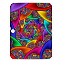 Color Spiral Samsung Galaxy Tab 3 (10.1 ) P5200 Hardshell Case
