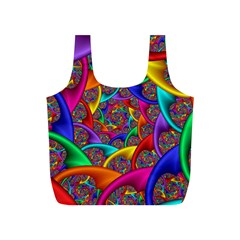 Color Spiral Full Print Recycle Bags (S)