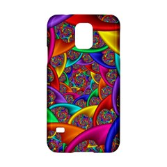 Color Spiral Samsung Galaxy S5 Hardshell Case
