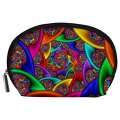 Color Spiral Accessory Pouches (large)