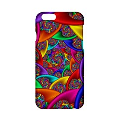 Color Spiral Apple Iphone 6/6s Hardshell Case