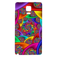 Color Spiral Galaxy Note 4 Back Case
