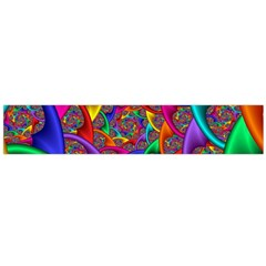 Color Spiral Flano Scarf (Large)