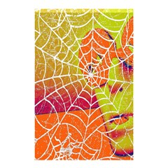 Orange Guy Spider Web Shower Curtain 48  X 72  (small)