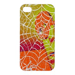 Orange Guy Spider Web Apple Iphone 4/4s Hardshell Case