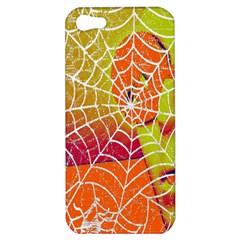 Orange Guy Spider Web Apple iPhone 5 Hardshell Case