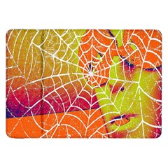 Orange Guy Spider Web Samsung Galaxy Tab 8.9  P7300 Flip Case