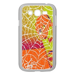 Orange Guy Spider Web Samsung Galaxy Grand DUOS I9082 Case (White)