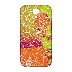 Orange Guy Spider Web Samsung Galaxy S4 I9500/i9505  Hardshell Back Case