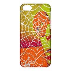 Orange Guy Spider Web Apple iPhone 5C Hardshell Case