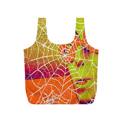 Orange Guy Spider Web Full Print Recycle Bags (S)