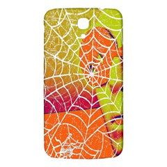 Orange Guy Spider Web Samsung Galaxy Mega I9200 Hardshell Back Case