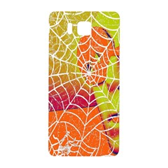 Orange Guy Spider Web Samsung Galaxy Alpha Hardshell Back Case