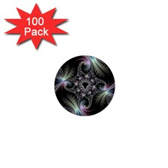 Beautiful Curves 1  Mini Buttons (100 pack)