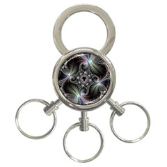 Beautiful Curves 3-Ring Key Chains