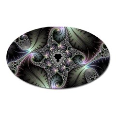 Beautiful Curves Oval Magnet