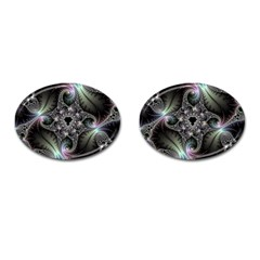 Beautiful Curves Cufflinks (Oval)