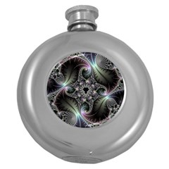 Beautiful Curves Round Hip Flask (5 oz)