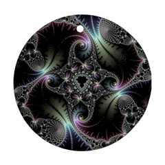 Beautiful Curves Round Ornament (Two Sides)