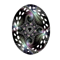 Beautiful Curves Ornament (Oval Filigree)