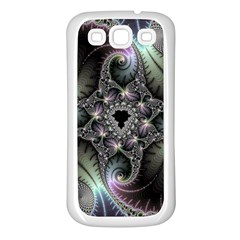Beautiful Curves Samsung Galaxy S3 Back Case (white)