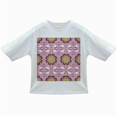 Floral Pattern Seamless Wallpaper Infant/toddler T Shirts