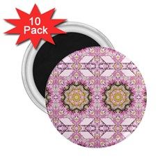 Floral Pattern Seamless Wallpaper 2 25  Magnets (10 Pack)