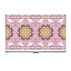 Floral Pattern Seamless Wallpaper Business Card Holders