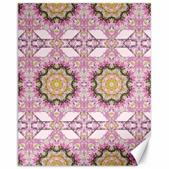 Floral Pattern Seamless Wallpaper Canvas 16  x 20